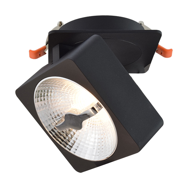 15W Trophy Recessed  Integrated Light