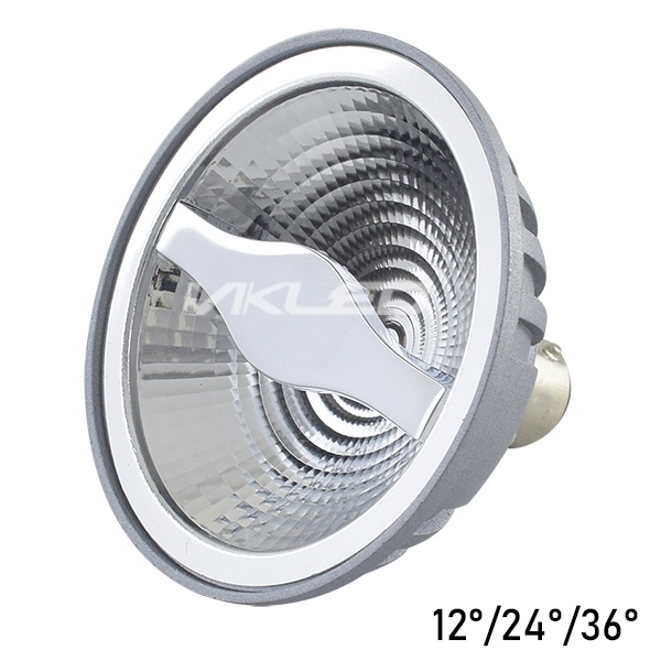 12V AC AR70 LED Spotlight 4000K 5W UGR<16 Luminous