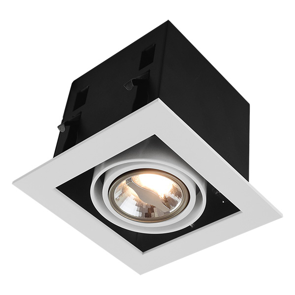 GU10 Recessed Fitting For Single Bulb