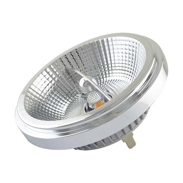 Dimmable AR111 Spotlight G53 12W CRI82 3000K 24D