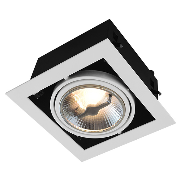 AR111 Recessed Fitting For Single Bulb