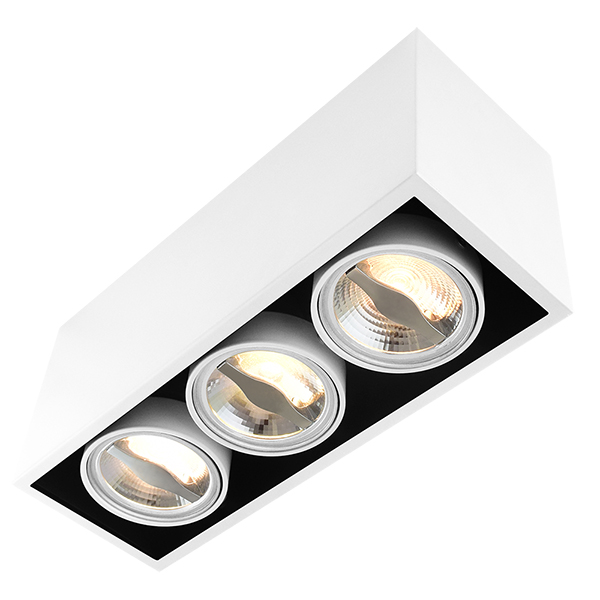 AR70 Surface Mount Fixture For Three Bulbs
