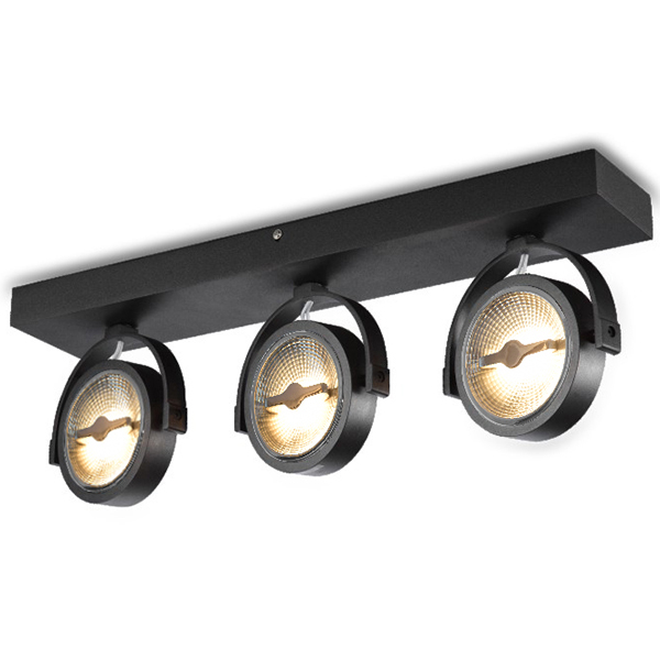 Surface Mounted Fixture For Triple LED Spot AR111