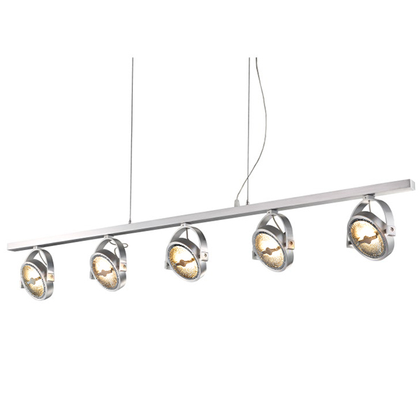 LED Spot AR111 Strip Suspension for Five Bulbs