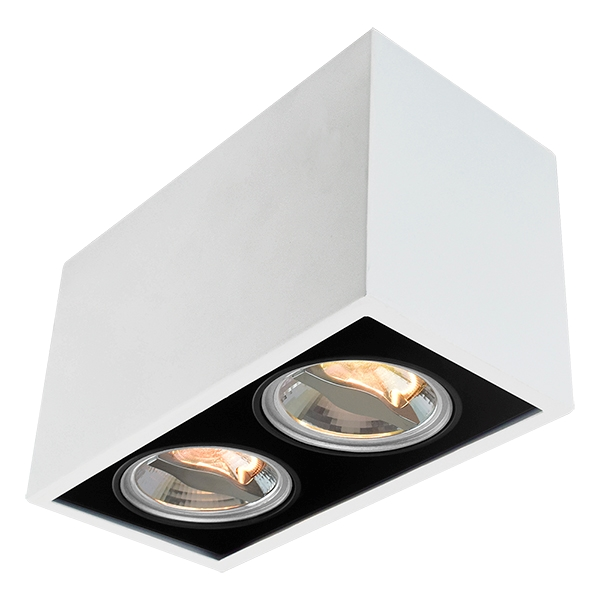 AR70 Surface Mount Fixture For Two Bulbs