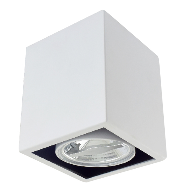 AR70 Surface Mounted Square Fixture Front Locked