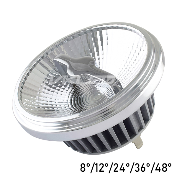12 Volt QR111 LED Spotlight 2000K 15W UGR<13 Luminous