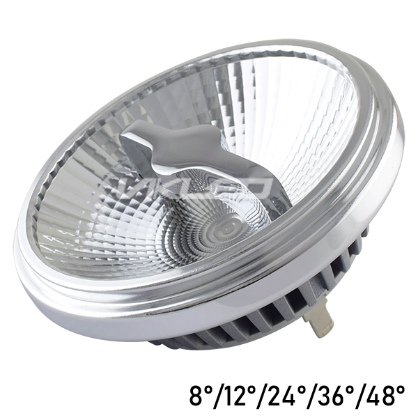 1-10V QR111 Spotlight LED 3000K 12W THD<15 Lumileds