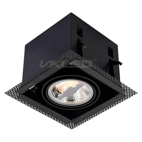 AR70 Square Recessed Fixture - Single